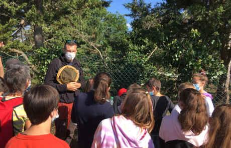 Visite des enfants du patrimoine 2021 à Croisy avec le CAUE27